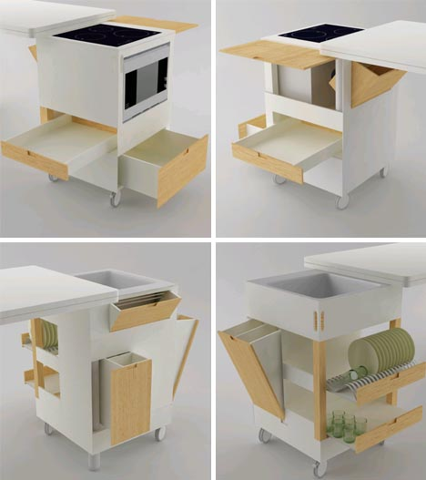 all-in-one-modern-kitchen-idea