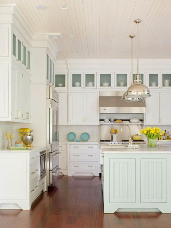 Traditional Coastal Style Kitchen Design Inspiration  : traditional coastal style kitchen design from www.china-kitchen-cabinets.cn size 554 x 738 jpeg 67kB