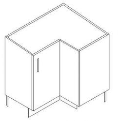 Corner Base Cabinet Dimensions