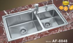 Kitchen Sinks With Double Bowl
