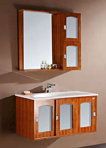 Antique Oak Bathroom Vanities