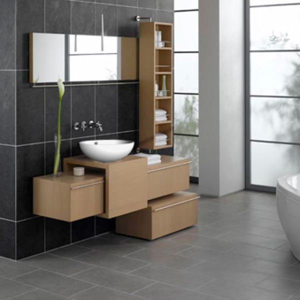 Contemporary bathroom cabinet modern and contemporary for Kitchen and bathroom cabinets