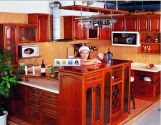 Solid Wood Kitchen Cabient Oak