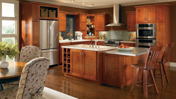 American style kitchen furniture retro kitchen cabinets for Kitchen designs american style